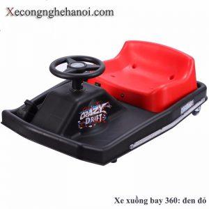 Xe điện 3 bánh trẻ em xe xuồng bay 360 1 bé đi
